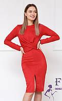 Элегантное замшевое платье  043 В /03, фото 1