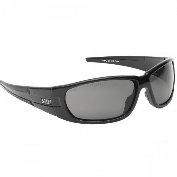 Очки стрелковые 5.11 Climb Polarized Black 52024