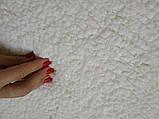 Чехол Универсальный На Диван И 2 Кресла Меховый Овечка VENERA Бело-Кремовый НОВИНКА, фото 8