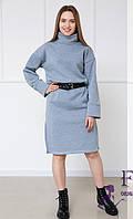 Теплое платье оверсайз  042 В /01, фото 1