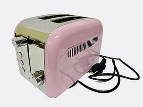 Тостер SilverCrest STS 850C1 850W Pink + 7 режимов обжаривания