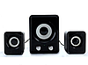 Колонки мощные с сабвуфером для компьютера mini 2.1 на usb