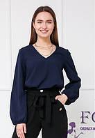 Прямая свободная блуза   018В/05, фото 1