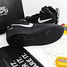 Женские кроссовки Nike Air Force 1'07Lv8 Ultra Hight Black, фото 2