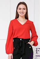 Прямая свободная блуза   018В/03, фото 1