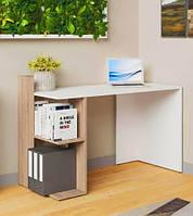 Стіл письмовий VMV Офіс HO shelf 120×85×55 біла платина/дуб кам'яний