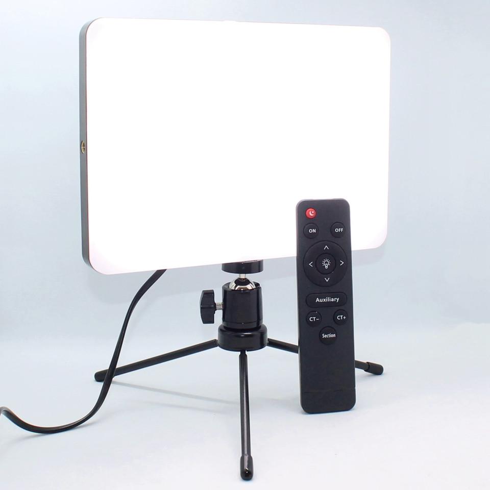 Профессиональная прямоугольная селфи лед лампа для студийной предметной съемки фото и видео Led Свет блогера