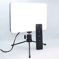 Профессиональная прямоугольная селфи лед лампа для студийной предметной съемки фото и видео Led Свет блогера, фото 1