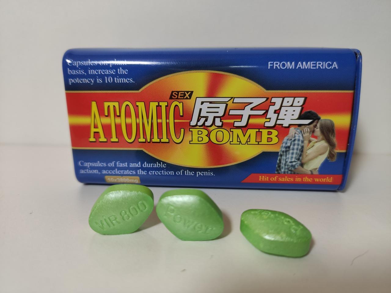 Атомная бомба (10 таблеток для потенции)