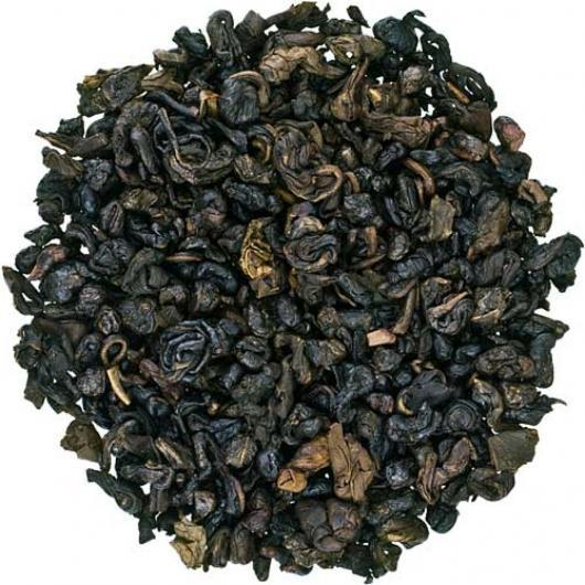 Крупнолистовой чай Зеленый саусеп Space Coffee 50 грамм