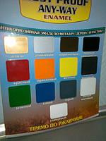 Почему стоит красить металл краской Direct To MetaL Aervoe, США