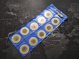 Алмазні диски для ручного дриля (дремеля) 22мм 10шт + 2 тримача