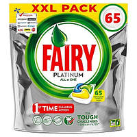 Капсулы для посудомойки Fairy Platinum 68 капс All in One