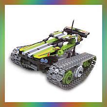 Радіокерований танк всюдихід конструктор QiHui Stunt Car 353 деталі - QH8015 Аналог Лего Технік