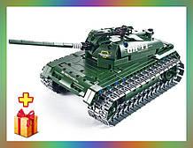Радіокерований гоночний конструктор танк QiHui Technics 4CH 2.4 G 453 деталей - QH8011Аналог Лего Технік
