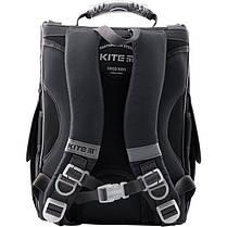 Каркасний ортопедичний рюкзак шкільний для хлопчика 1-3 клас Kite Transformers TF19-501S-2, фото 2