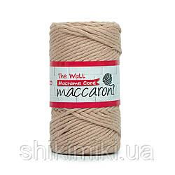 Эко шнур Macrame Cord 3 mm, цвет Бежевый