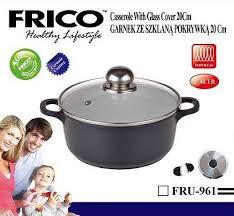 Казан-жаровня FRICO FRU-961 20 см, 2.2 л