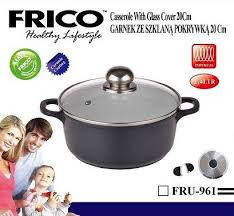 Казан-жаровня FRICO FRU-961 20 см, 2.2 л, фото 2