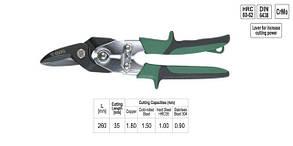 Ножницы по металлу правые 260мм Профи YATO (YT-1911), фото 2
