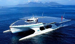 Трансатлантический вояж на чистой энергии Солнца
