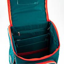 Рюкзак школьный ортопедический каркасный для мальчика в 1-3 класс Kite Transformers TF19-501S-1, фото 3