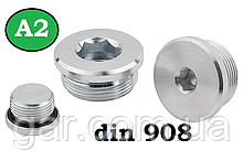 Заглушка DIN 908 M22x1,5 A2