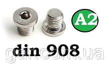 Заглушка DIN 908 M27x2 A2