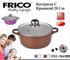 Кастрюля FRICO FRU-968 24 см, 4.0 л, фото 2
