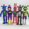 Набор фигурок Кошмарные аниматроники из игры Пять Ночей у Фредди 5в1 ФНаФ 14 см. Five Nights at Freddys FNaF