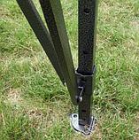 Шатер раздвижной усиленный  4х8 (красный), фото 4