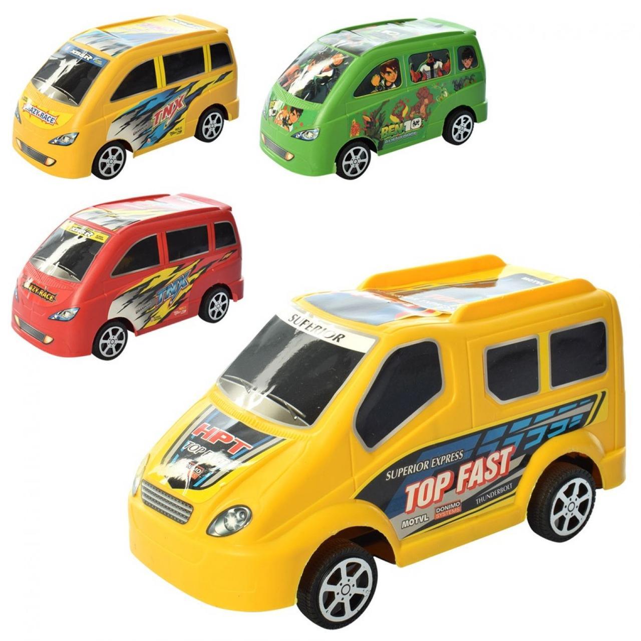 Машина інер-а в кульку,21х10х9см,мікс №2018-5-6(160)