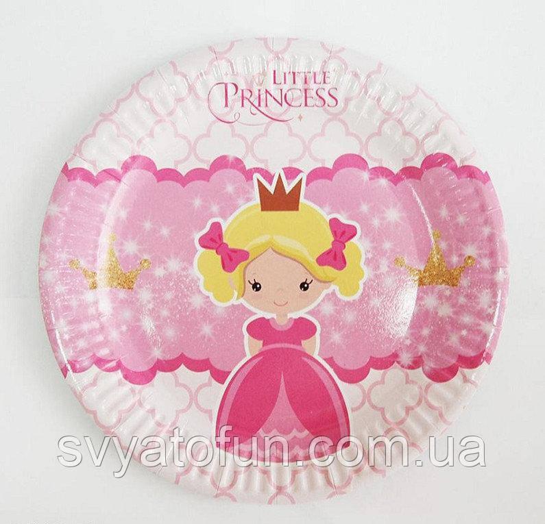 Набор тарелок Литл Принцесс 10шт/уп