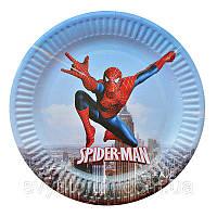 """Набір тарілок """"Людина-павук"""" (10 шт/уп)"""