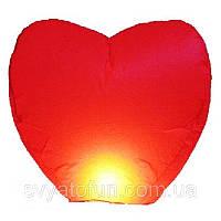 Небесный фонарик Сердце красное Китай