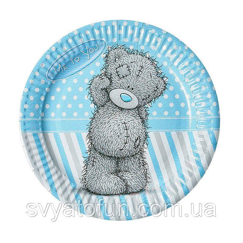 """Набір тарілок """"Ведмедик Тедді"""" для хлопчиків"""