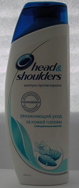 Шампунь Head & Shoulders УВЛАЖНЯЮЩИЙ УХОД ЗА КОЖЕЙ ГОЛОВЫ с миндальным маслом 200ml