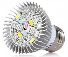 Фитолампа для растений E27, 28 LED, 8 Вт
