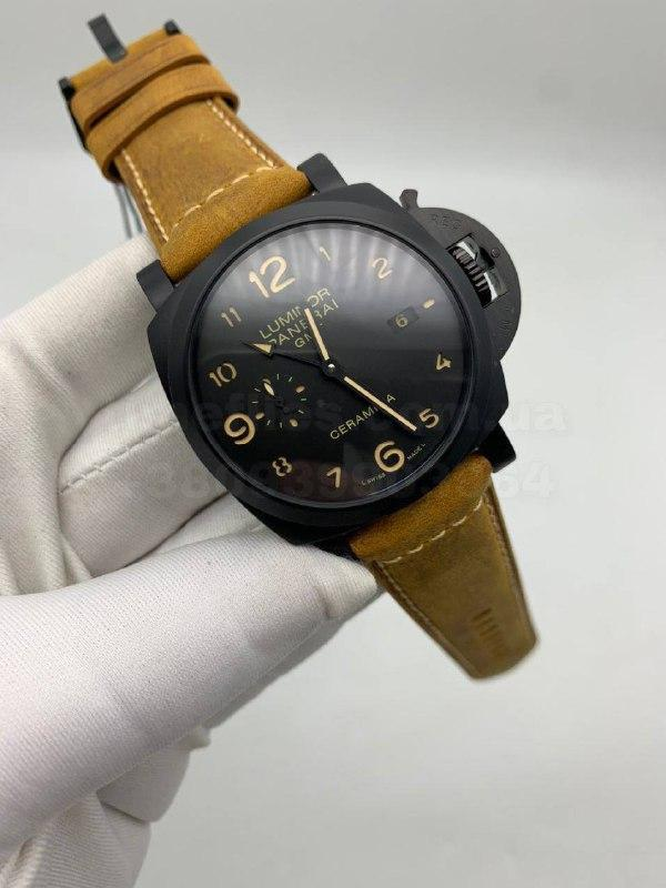 Часы Панераи Люминор 1950 3 Дэйс ДжиТМ Люкс копия+