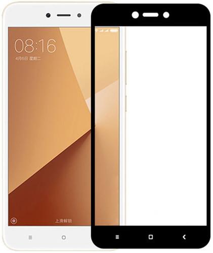 Захисне скло 3D для Xiaomi RedMi Go Black (9H Tempered Glass)