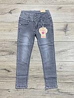 Стрейчеві джинси для дівчаток. 134 зростання.