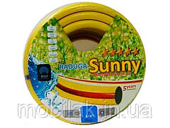 Шланг для поливу 1/2 (50м) Веселка жовта Sunny Gökkuşağı Sari ЕСО ТМ EVCI