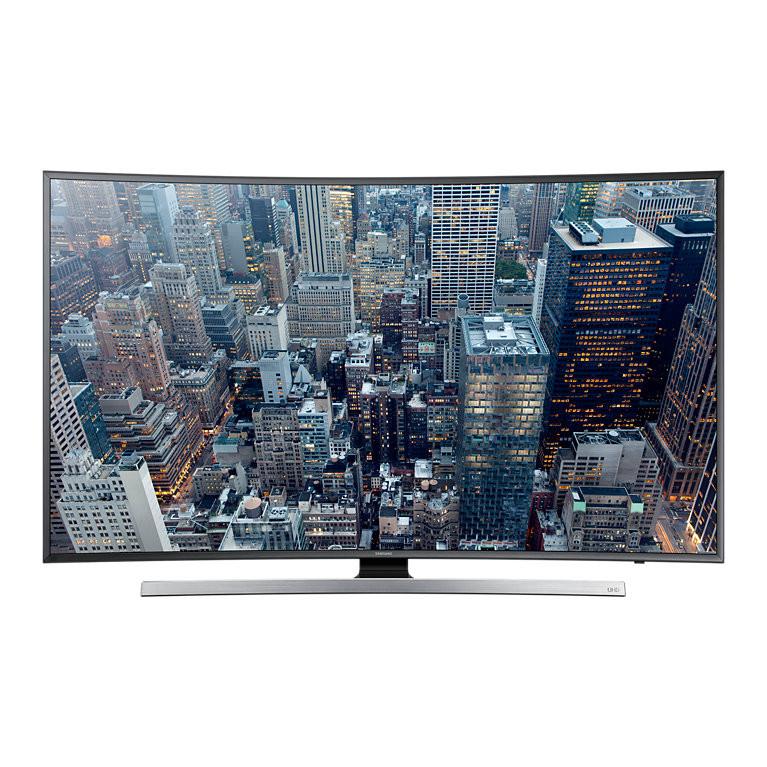 Телевизор Samsung UE65JU7500 (1400Гц, Ultra HD 4K, Smart, Wi-Fi, 3D, ДУ Touch Control, изогнутый экран)