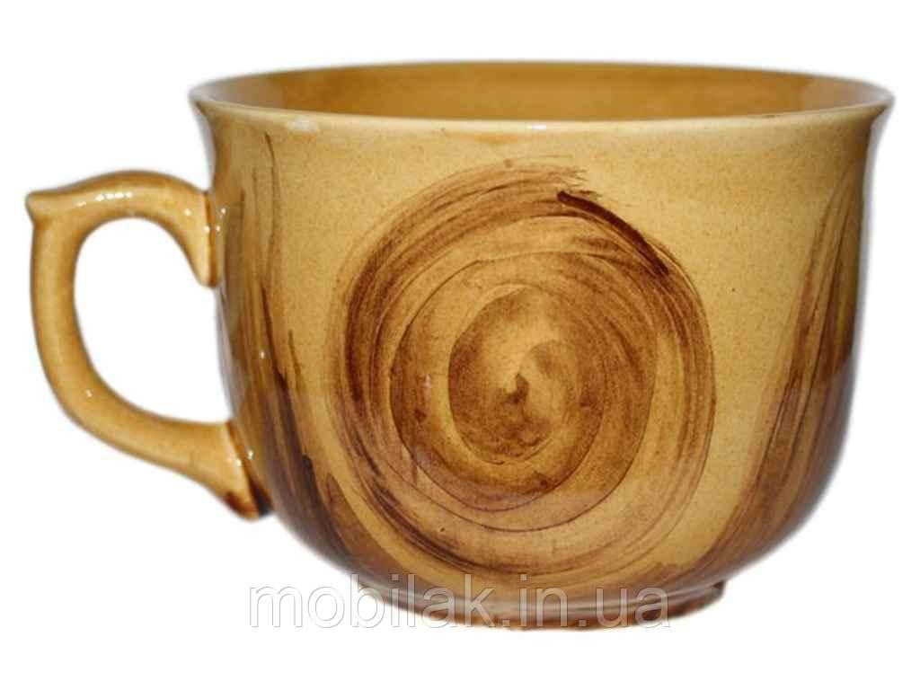 Чашка 400мл Аппетитка малюнок Дубок (6шт. в уп.) ТМ ПОЛИГЕНЬКО