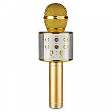 Микрофон для караоке, WSTER WS858, блютуз микрофон для пения, детский микрофон с динамиком