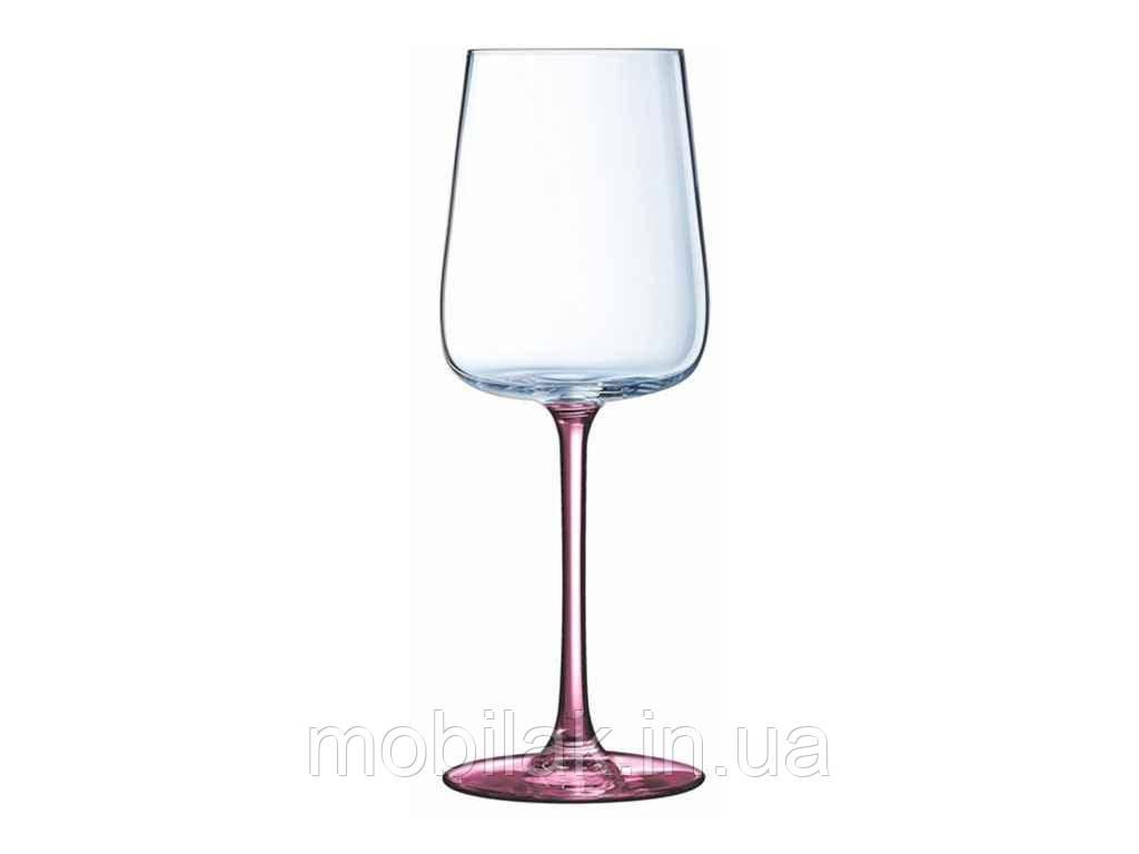 Набір келихів/вино 350мл-6шт(P9602) Contrasto Lilac ТМ LESSNER