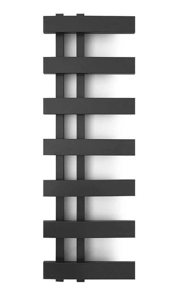 Електричний полотенцесушитель Genesis-Aqua Magnum Light 100x35 см чорний