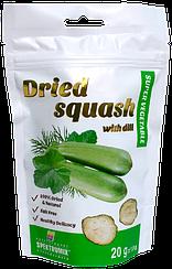 Кабачки сушеные с укропом Spektrumix™  Dried Squash With Dill (20 грамм)