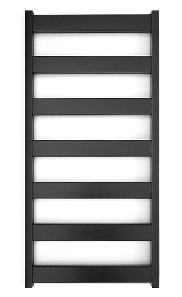 Електричний полотенцесушитель Genesis-Aqua Bull 120x53 см чорний