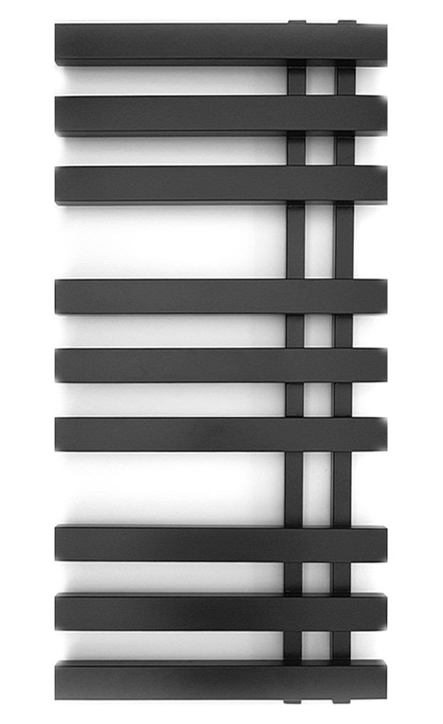 Электрический полотенцесушитель Genesis-Aqua Magnum 120x53 см черный